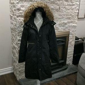 Michael Kors black long jacket